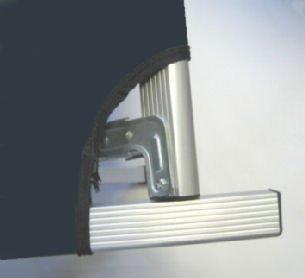 Verarbeitung des Kronenburg XXL Feldbettes im Detail