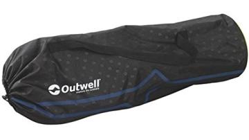 Das Outwell Feldbett in seiner komfortablen Tragetasche