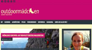 Outdoormaedchen blog