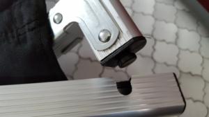 Querstange und Rahmen Detail 2