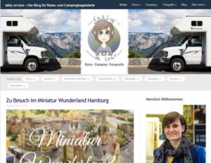 Hier sehen Sie einen Screenshot von www.taklyontour.de