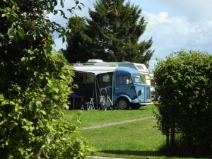 Camping im Sommer